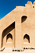 Jabreen Castle, Sultanate of Oman, Midle East, Exterior detail