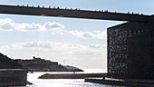 France, South-Eastern France, French Riviera, Marseille, gateway linking the Fort St Jean and the MuCEM (Museum of European and Mediterranean Civilisations) Mandatory credit: Architect Rudy Riciotti