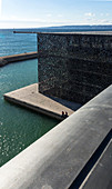 France, South-Eastern France, French Riviera, Marseille, MuCEM (Museum of European and Mediterranean Civilisations) Mandatory credit: Architect Rudy Riciotti from the gateway