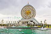 Turkmenistan, Ashgabat, Alem Cultural and Entertainment Center - the biggest indoor Ferris wheel in the world