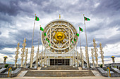 Turkmenistan, Ashgabat, Alem Cultural and Entertainment Center - the biggest indoor Ferris wheel in the world)