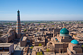 Uzbekistan, Khorezm Region, Khiva (W.H.), Islam Khodja Minaret