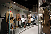 France, Seine et Marne. Meaux. Museum of the Great War in the country of Meaux. WWI. Gallery showing Ottoman uniforms.