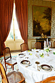 France, Paris, the Minister's dining room, Ministry of Foreign Affairs, Qaui d'Orsay, European Heritage Days, 2014 edition