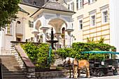 Dorfansicht St. Wolfgang am Wolfgangsee, Oberösterreich, Österreich, Europa