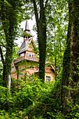 Villa Blumenthal, Bad Ischl, Salzkammergut, Oberösterreich, Österreich, Europa