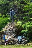 Emperor's hunting memorial, Bad Ischl, Salzkammergut, Upper Austria, Austria, Europe