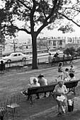 1959, streetscene, Montmartre, Paris, France
