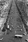 1960, Champs Élysées, Paris, France