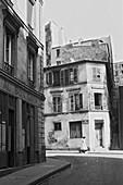 1960, Rue de trois fréres, Montmartre, Paris, France
