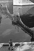 1959, Pont Neuf, Seine, Paris, France