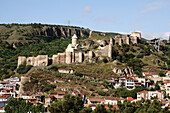 narikala fortress, Tbilisi, south caucasus