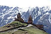 Church, Kasbek, Georgia, south caucasus
