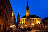 Stadt Bautzen on the Hauptmarkt, Bautzen, Saxony, Germany