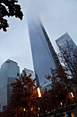 Freedom Tower, World Trade Center Memorial, New York City, USA