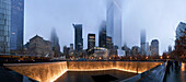 World Trade Center Memorial, New York City, USA