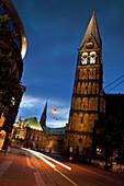 Marktplatz at night, Bremen, Germany