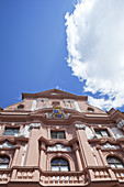 The listet baroque building Dalberger Hof in the historic old town of Mainz, Rhineland-Palatinate, Germany, Europe