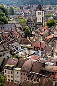 Rooftops, Freiburg im Breisgau, Black Forest, Germany