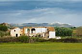 abandoned cottage ruin, Canete la Real, near Ronda, Malaga province, Andalucia, Spain, Europe