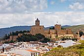 Alcazaba, Castillo, castle, Antequera, town, Malaga Province, Andalucia, Spain, Europe