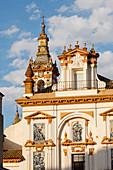 Iglesia de la Santa Caridad church and Hospital de la Caridad, Baroque, 17th century architecture, Seville, Andalucia, Spain, Europe