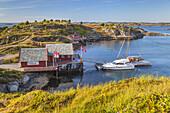 Haholmen by the Atlantic Ocean Road, Vagen, More og Romsdal, Western Norway, Norway, Scandinavia, Northern Europe, Europe