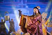 History performance at Wuliangye alcoholic beverage company, Yibin, Sichuan Province, China, Asia