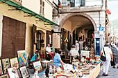 Flea Market, Pieve di Teco, Liguria, Italy, Europe