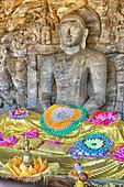 Lying Buddha from Gal Vihara, Polonnaruwa Sri Lanka