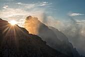 Gran Cir, Dolomites, South Tyrol, Italy The peak of the Gran Cir