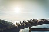 Train on Monte Igueldo amusement park, Guipuzcoa Province, San Sebastian, Spain, Basque Country Region