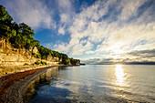 Felsen, Strand, Kalksfelsen, Kreidefelsen, UNESCO, Welt Kultur Erbe, Stevns Klint, Ostsee, Dänemark