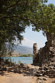 antique roman excavation, Butrint, Ksamil, Albania