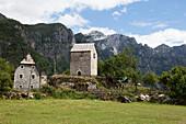 Old farmhouse, Theth, Albanian alps, Albania