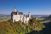 Neuschwanstein Castle, Fussen, Allgau, Allgau Alps, Bavaria, Germany, Europe