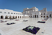 Außenansicht von Muscat Opera House, Muscat, Oman, Mittlerer Osten