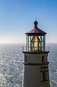 'Heceta Head Light is a lighthouse on the Oregon Coast; Oregon, United States of America'