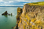 'Cape Split along the Bay of Fundy; Nova Scotia, Canada'