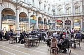 Innenhof, Royal Exchange, City of London, London, England