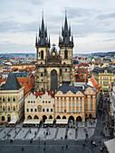'Church of Our Lady Before Tyn; Prague, Czech Republic'