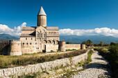 'The 11th century cathedral at the Alaverdi Monastery, Georgian Orthodox monastery in the Kakheti region of Eastern Georgia; Kakheti, Georgia'