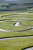Ivan River, Susitna Flats State Game Refuge, Cook Inlet, Alaska, United States of America