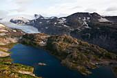 Landscape in Kachemak Bay State Park, Alaska, United States of America