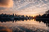 vancouver skyline, vancouver, British columbia, Kanada, north america