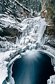 Johnston Canyon, castle junction, Banff Town, Bow Valley, Banff National Park, Alberta, canada, north america