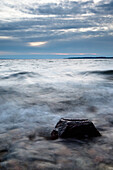 stone, Baltic Sea, Bülk, Strande,  Schleswig Holstein, Germany