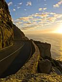 Sunset, chapman's peak, South Africa