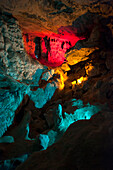 Play of Colours, Cango Cave, Garden Route, South Africa