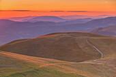 Europe, Italy,Umbria, Perugia district, Sibillini national park